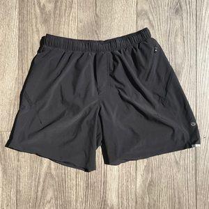 Black Lululemon Longer Shorts